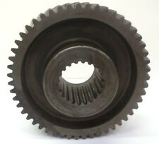 "UNKNOWN BRAND, SPLINE WORM GEAR, 6P, 51T, HUB O.D.4 1/2"", O.A.L O.D. 9 1/8"""