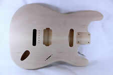 Unfinished Basswood Strat Stratocaster guitar body - 6 point - HS - STRE028
