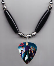R5 Band Photo Guitar Pick Necklace #4