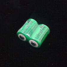 2x CR-2 800mAh 3.0v Rechargeable Battery For Fujifilm fuji instax mini 20 55 55i