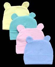 Baby Goods:  Baby Fleece Beanies - Winter Caps With Ears 12 Pc Lot  ( EWCK1151#)