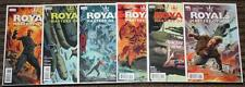 DC Vertigo Royals: Masters of War # 1-6 COMPLETE SET - Rob Williams Coleby