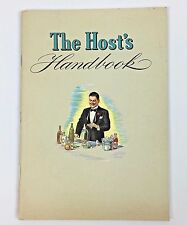 Party Host Handbook National Distillers Recipe Cocktails Alcohol Antique 1940s
