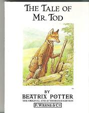 Beatrix Potter Book - The Tale of Mr. Tod - #14 1980s Book