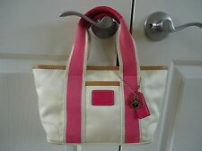 Coach Hampton Tote Handbag #1893