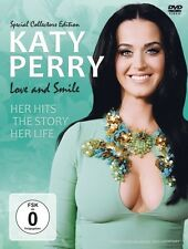 KATY PERRY - LOVE AND SMILE/DOCUMENTARY  DVD NEU