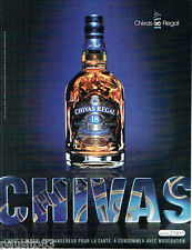 PUBLICITE ADVERTISING 115  2007  CHIVAS REGAL  whisky 18 YEARS