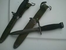 Vietnam Era M7-Bayo Fighting Knife with M8A1 Scabbard