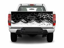 Boat Car Truck Bed Carbon Fiber Tailgate Graphics Decal wrap Stickers Skins