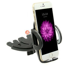 Car CD Dash Slot Mount Holder Dock For iPhone 6 6S Plus Samsung Galaxy S5 S4 GPS