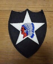 WW2 US 2ND INFANTRY DIVISION PATCH(A2123)