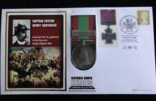 2010 FULL SIZE SEC AFGHAN MEDAL PNC VICTORIA CROSS HEROES EUSTON SARTORIUS VC