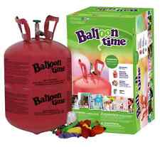 Balloon Time Disposable Helium Tank 30 Balloons included. FREE SHIPPING !