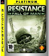 Jeu RESISTANCE FALL OF MAN sur PS3 playstation 3 game spiel juego NEUF / NEW