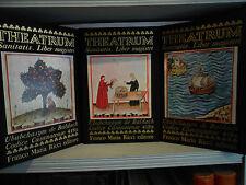 THEATRUM SANITATIS-1970/71-FMR-Franco Maria Ricci-3 vol. - texte italien