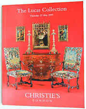 Christies,The Lucas Collection,  Works of Art, Furniture, Paintings  1999 London