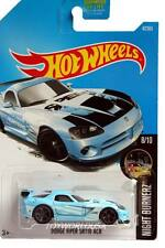 2017 Hot Wheels #47 Nightburnerz Dodge Viper SRT10 ACR