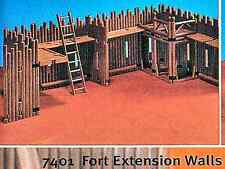 Playmobil 7401 Vintage Western Stockade Fort Extension Set  - Mint in bag
