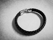 Bracelet Blanks Leather Cuff Bracelet Black Leather Authentic Real Leather