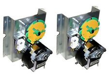 2-Vending machine motor, Dixie Narco (Green and yellow disk) Motor, dbl column