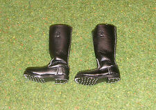 TOYS CITY 1/6 SCALE WW II GERMAN - LOOSE - JACK BOOTS (LEATHER LOOK)
