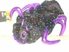 NEW SMALL S SM TOP PAW TOPPAW SPIDER PET HALLOWEEN DOG COSTUME W/HOOD WITH TAGS