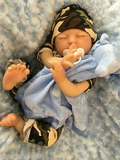 "CHERISH DOLLS NEW REBORN BABY DOLL BOY AIDAN FAKE BABIES REALISTIC 22"" NEWBORN"