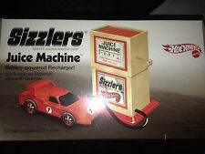 Sizzler Hot Wheels Juice Machine Battery Powered Recharger Mattel k4575 circ2005