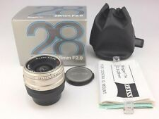NearMINT Contax Carl Zeiss Biogon T* 28mm f/2.8 Lens for G1,G2 G mount w/Box F/S