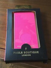 2 X New Pauls Boutique AVA Pink Mobile Phone Case Fits iPhone 5 & 5s