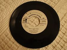 DICK RICHARDS  BLUE-JEAN BABY/WE'VE GOT A RIGHT TO LOVE COLUMBIA 40957 PROMO  M-
