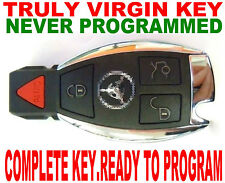 TRULY NEW VIRGIN NEVER CODED SMART KEY FOR MERCEDES BENZ CHIP REMOTE TRANSPONDER