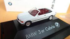 Herpa BMW 3-er E-36 1990 Cabrio weiß mit Softtop PC 80419419969 BMW-Werbe-OV
