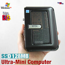 Ultra piccolo mini mano COMPUTER PC 1ghz DOS WINDOWS XP 2000 SSD DVI giochi vecchi