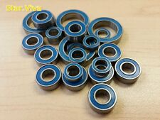 (Blue)Double Metal Rubber Sealed Ball Bearing For Tamiya TL01/TL-01 (24pcs) Sv