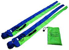 SNAKE POI - Practice Poi - Fabric POI (Blue/Green)