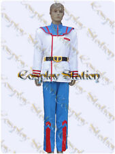 Macross Robotech Rick Hunter Flight Suit Cosplay Costume_commission815