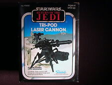 Star Wars VINTAGE 1983 Tripod Laser Cannon 100% Mint in Sealed C-6 Box Kenner!!!