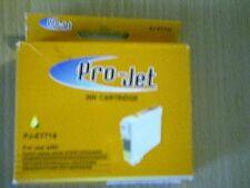 PROJET ET714  Yellow INK CARTRIDGES FOR EPSON Stylus D78/D120/DX4000/4050/5000/