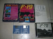 COMMODORE AMIGA GIOCO F-19 STEALTH  FIGHTER BOXATO - PERFETTO