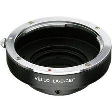 Vello Canon EF/EF-S Lens to C Mount Camera Adapter