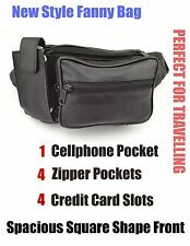 Genuine  Leather  Fanny pack Belt Pouch Waist Patch Travelling Bag Cell Phone