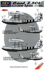 LF Models Decals 1/72 Italian CANT Z.501 FLYING BOAT OVER SPAIN Part 3
