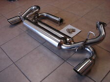 Acura NSX 91-96 TOP SPEED PRO-1 Performance Dual Canister Exhaust 89mm Tips