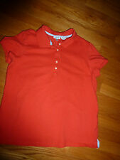 """IZOD STRETCH "" LADIES RED S/S SHIRT( WITH 5 BUTTON FRONT )  SIZE L/G"
