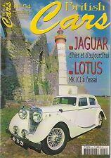 BRITISH CARS 54 JAGUAR MK4 + XK 4.2 FORD CONSUL CORTINA 63 ALLARD LOTUS MK7 58