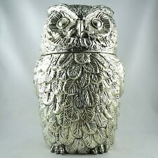 Seau à Glace Design CHOUETTE by MAURO MANETTI Italy Vintage Owl Ice Bucket 60/70