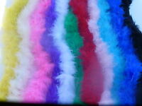 QUALITY MARABOU SWANSDOWN FLUFFY FEATHER FUR STRING TRIMMING TRIM FREE POSTAGE