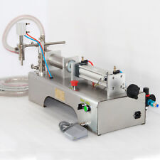 LIQUID FILLING MACHINE PNEUMATIC  FOR SHAMPOO,OIL,WATER PERFUME 90-1000ML TOP