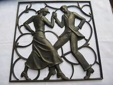 BUDERUS CAST IRON ART DECO WALL PLAQUE Heinrich Moshage